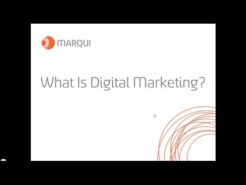 Digital Marketing - Back to Basics Webinar