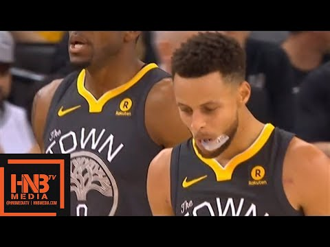 Golden State Warriors vs San Antonio Spurs 1st Half Highlights / Feb 10 / 2017-18 NBA Season
