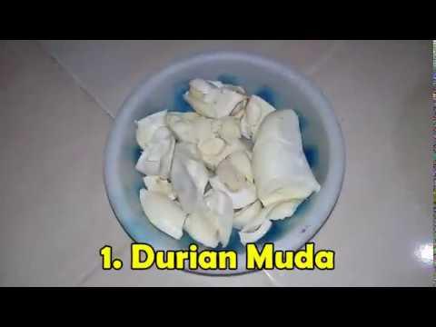 Resep Cara Memasak Gulai Durian Muda Youtube