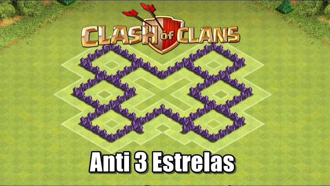 Clash Of Clans - Layout de Farm Troll para CV5 Anti 3