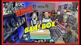 The BAM! Box Horror Edition April 2018 Unboxing  | BONUS !!! | Guru Reviews