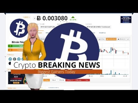 Cryptocurrency Bitcoin Private $BTCP Climbs 43% In the Last 24 Hours