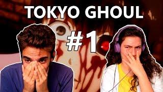 TOKYO GHOUL [+18] episódio 1 - REAÇÃO