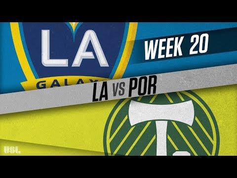LA Galaxy II vs Portland Timbers 2: July 28, 2018