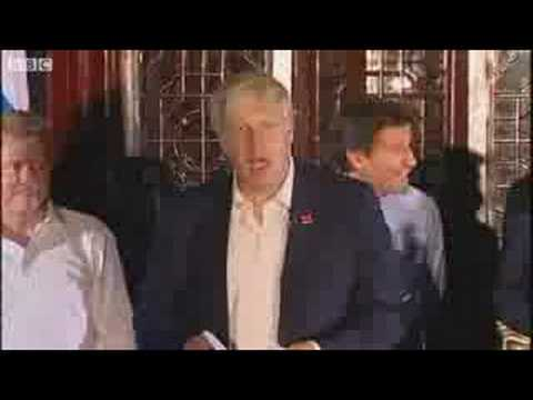 Boris Johnson Ping Pong Speech