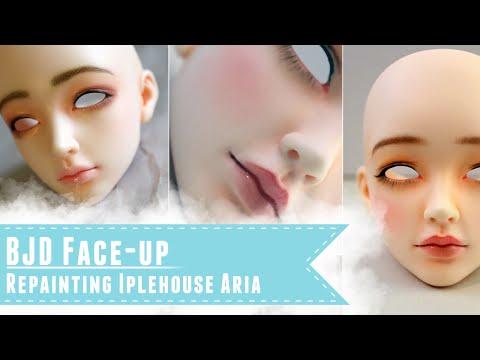BJD faceup: Repainting Iplehouse Aria