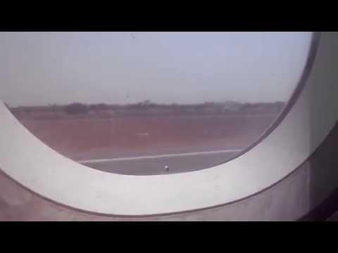 My first flight experience  from Indira Gandhi International airport (Delhi) in Air India)
