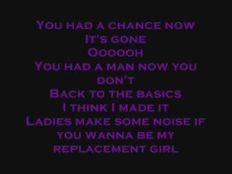 Drake featuring Trey Songz- Replacement Girl (lyrics)