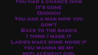 Drake featuring Trey Songz- Replacement Girl (lyrics)