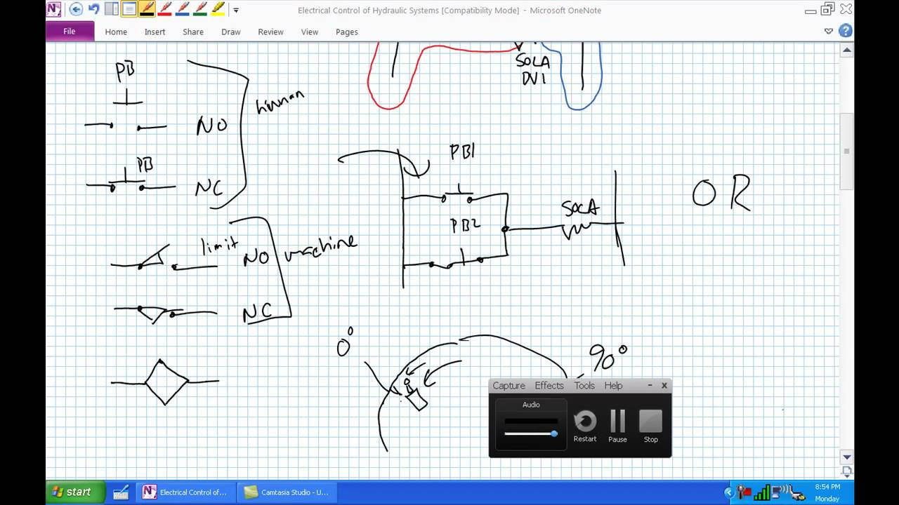 Electrical Control Of Hydraulic Systems Youtube Geigercountertoibminterface Basiccircuit Circuit Diagram Premium