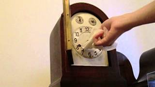 HAC/Junghans 3/4 Westminster Chime Mantel Clock