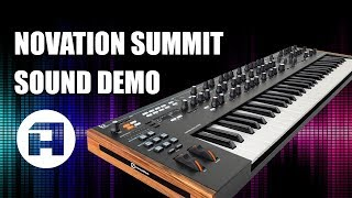 Novation Summit Sound Demo
