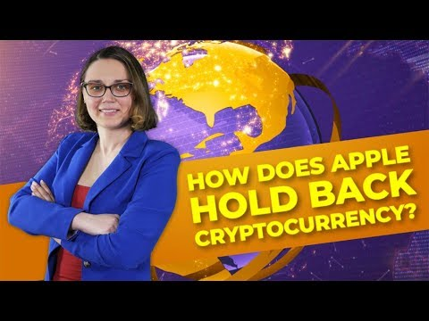How does Apple hold back cryptocurrency?
