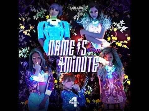 01. 4Minute (포미닛) - What's My Name? - [4th Mini Album]