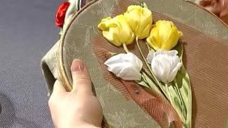 Ручная работа 29.04.2017. Вышивка: тюльпаны