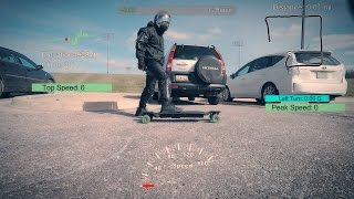 My Carvon EVO Electric Skateboard Prototype Hit 31mph!