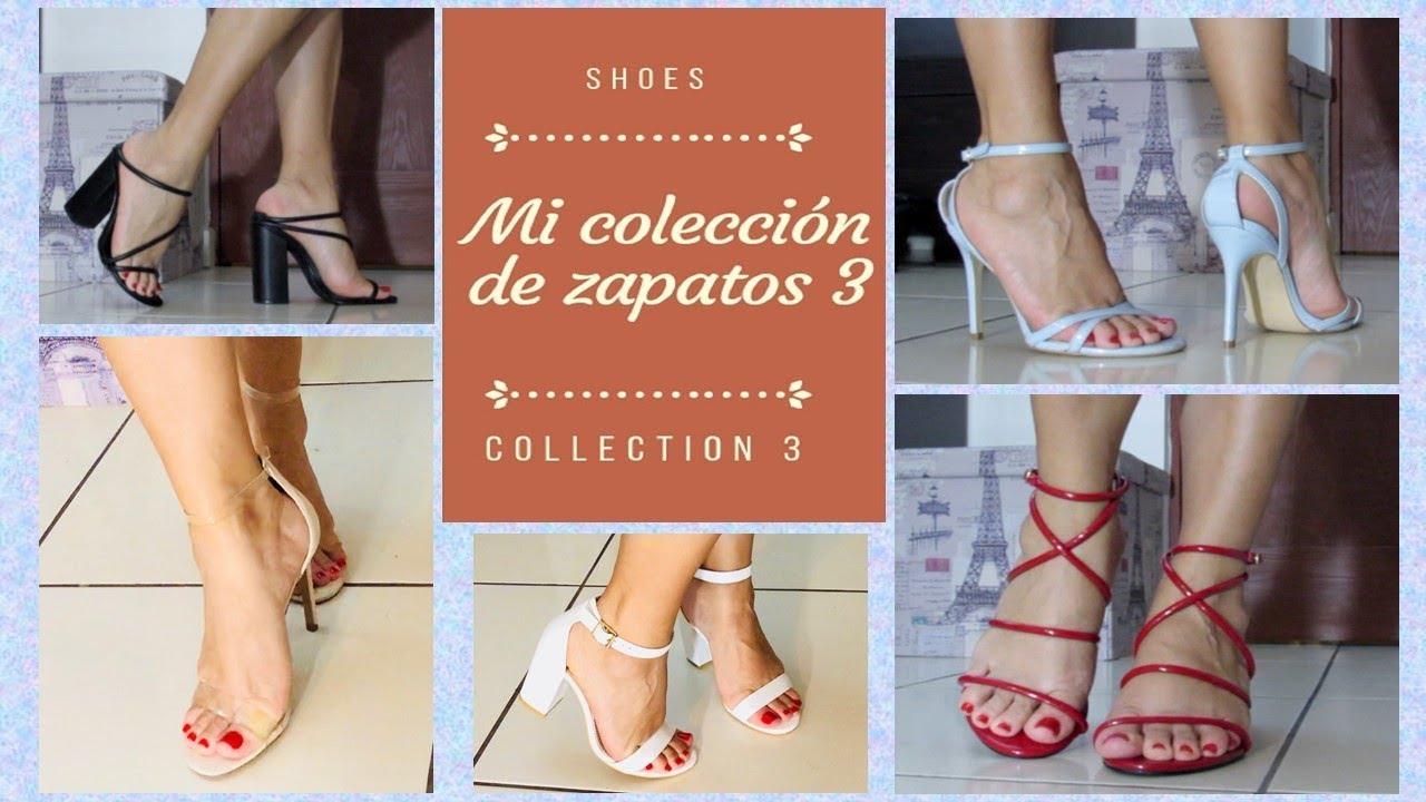 Mi coleccion de zapatos parte 3 | Pasarela de pies mujer
