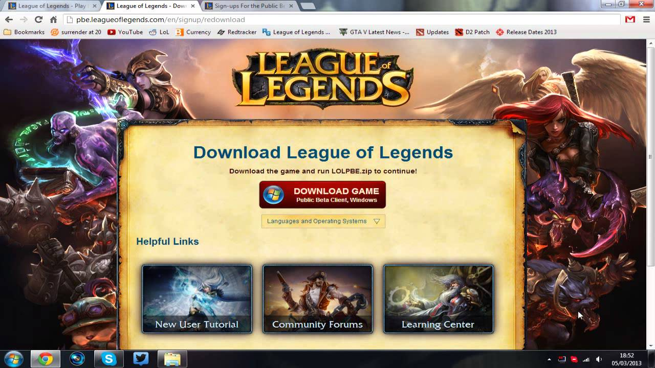 How to download PBE - Guide how to get PBE (Public Beta ...