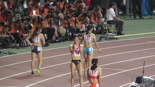 福島千里 100メートル女子決勝 敗れる。。。 日本陸上競技選手権 2017 福島千里 動画 27