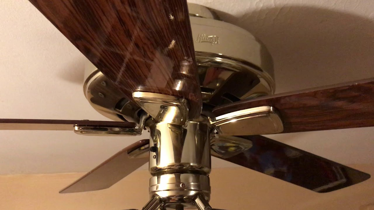 Hunter Infiniti Ceiling Fan Humming