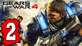 Gears of WAR 4: Gameplay Walkthrough Part 2 ACT 1 CHAPTER 1 THE RAID