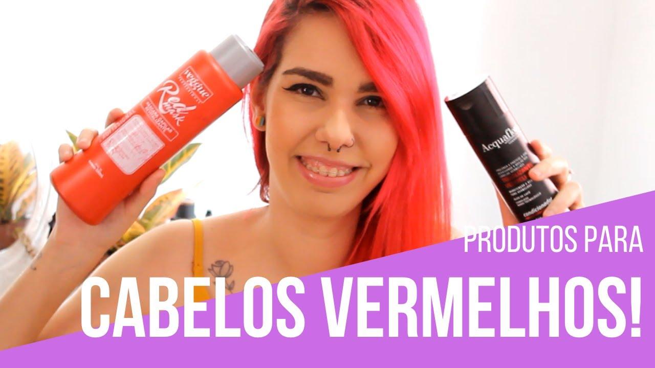 MELHORES produtos para cabelos vermelhos! #2