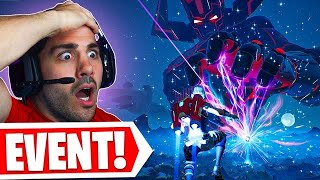 Galactus DESTROYS Fortnite in Live EVENT! 🤯 (Season 5 Event Reaction)
