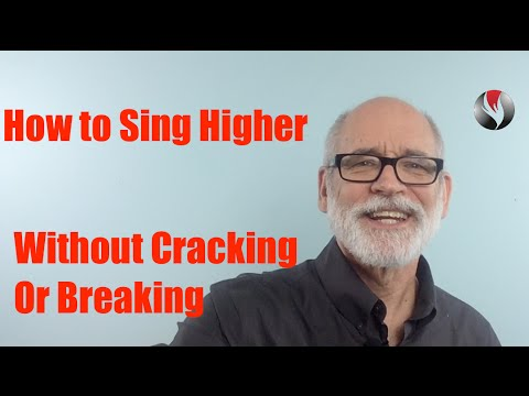 how to sing without voice cracking