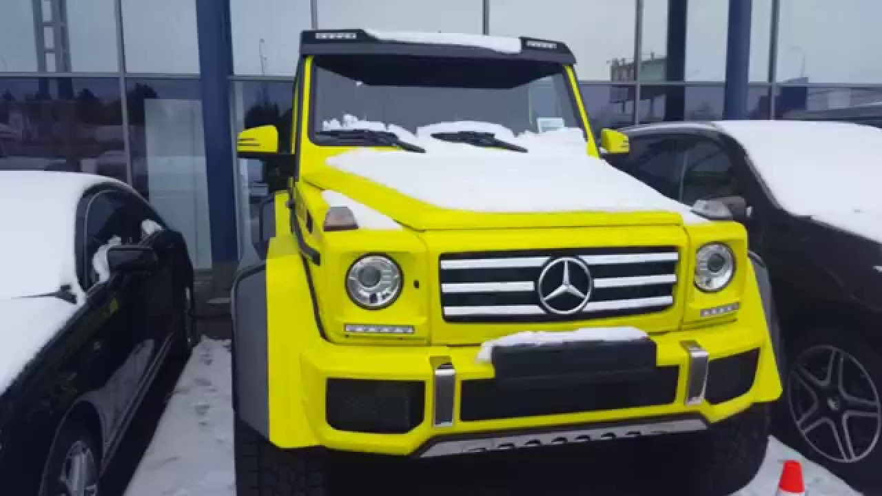 All new mercedes benz g500 2017 4x4 2 detailing video for Mercedes benz 4x4 2017
