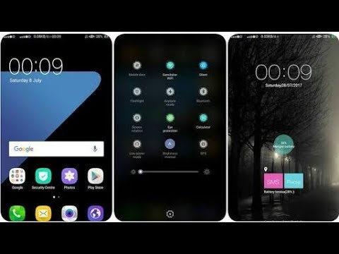 Get Samsung Galaxy S7 theme for any oppo Mobile😎😎