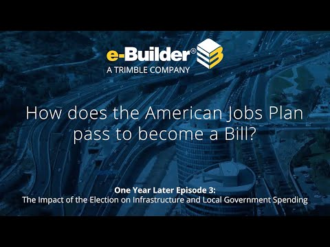 How does the American Jobs Plan pass to become a bill?