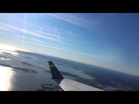 Flying Over S. Boston & Harbor Islands