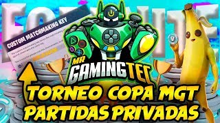 Fortnite Private Games Giving Skins (Copa MGT Fortnite Tournament) #partidasprivadas
