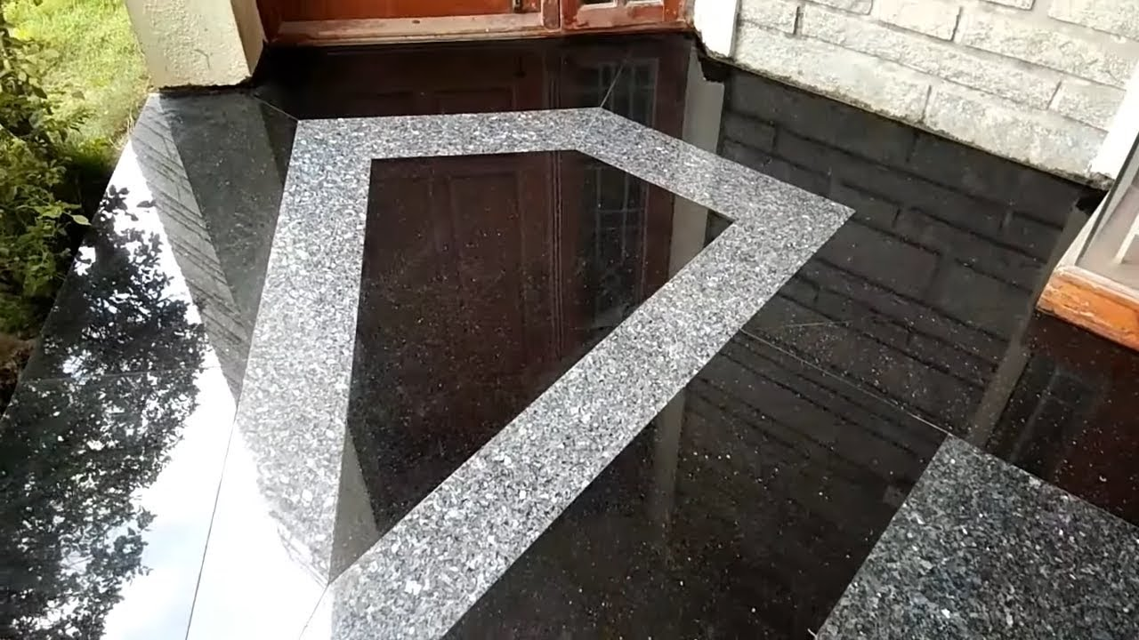 Granite flooring design with indian granite bouder 2018 ...