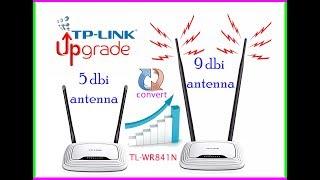 How to extend wifi range using high power antennas - 5dbi to 9dbi antenna
