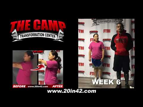 Bakersfield Weight Loss Fitness 6 Week Challenge Results - Evelyn P.