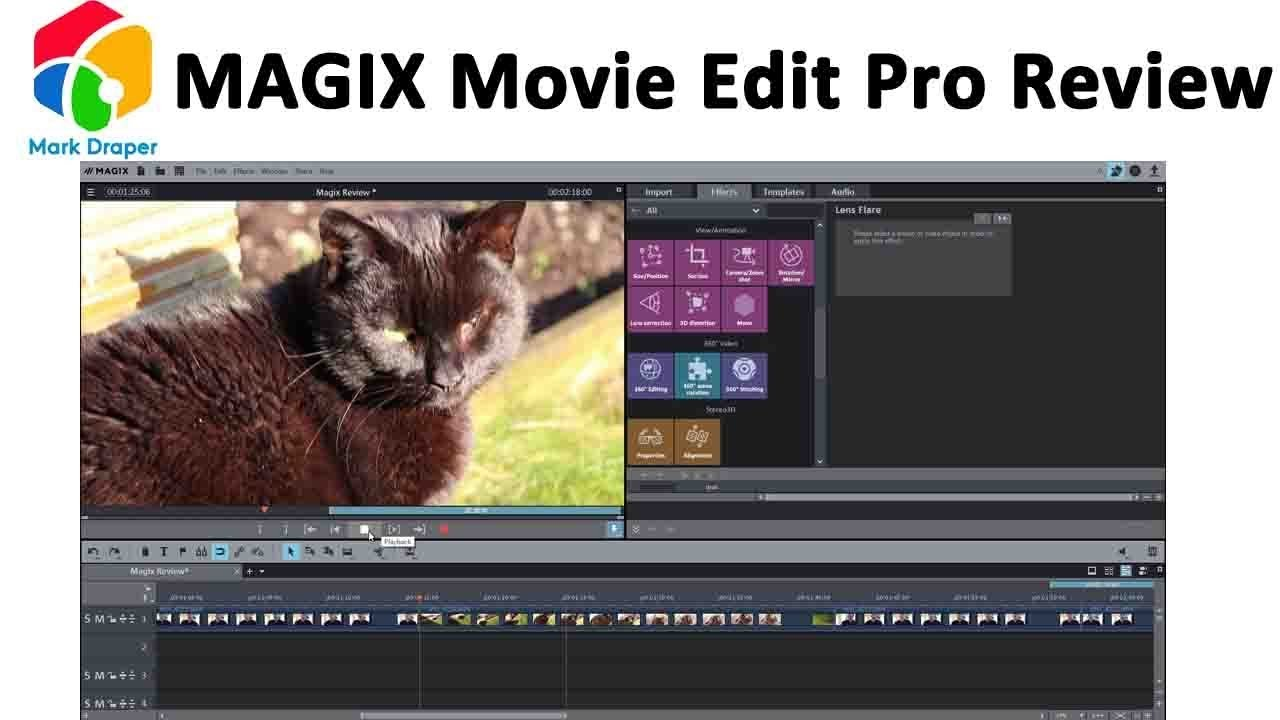Magix Movie Edit Pro Review Youtube