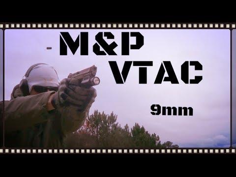 Smith & Wesson M&P VTAC 9mm Pistol Review (HD)