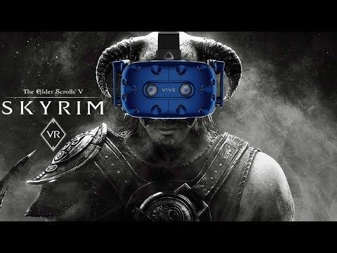 Oro Plays Skyrim VR