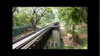The Bridge on the River Kwai - Kanchanaburi province -  Thailand