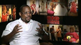 Martin Lawrence talks 'posing nude' and men in dresses - Big Momma's House 3
