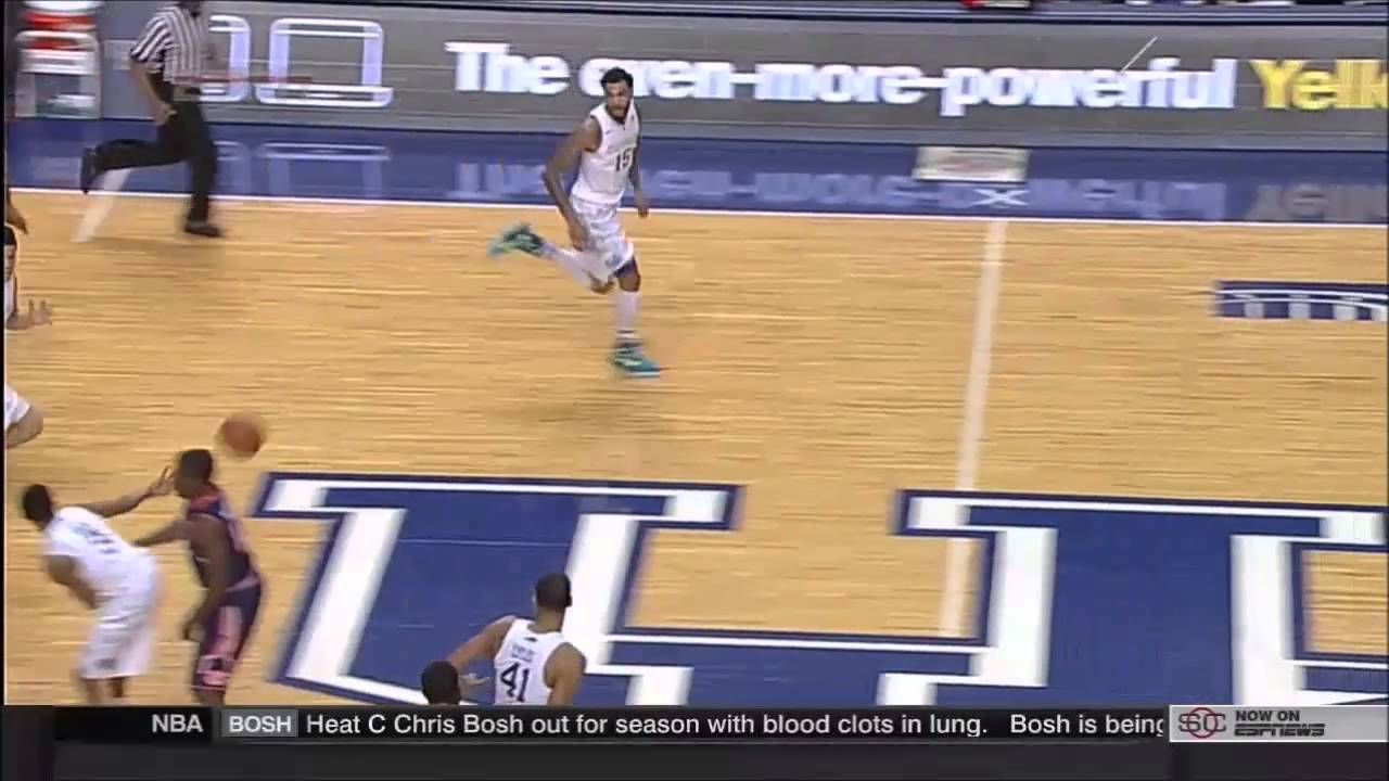 Tyler Ulis No-Look Behind-the-Back Pass & Monster Windmill ...