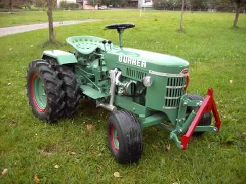 Bührer Traktor Eigenbau - YouTube