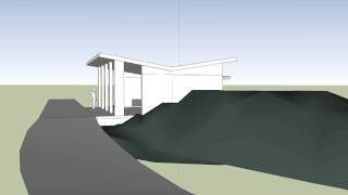 Site With With Garage-butterfly Roof-myers.avi