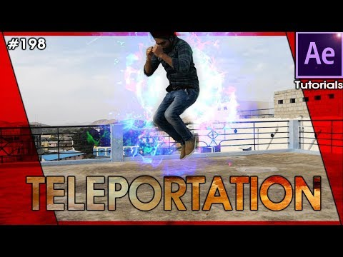 Advanced Teleportation - After Effects Tutorial By Balu Prime
