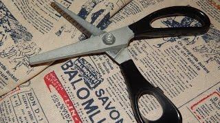 Как обработать край ткани БЕЗ обмётки и оверлока?(Ткань, образующая бахрому по краям требует применения оверлока или обметки вручную. Не у всех швейных машин..., 2015-10-15T05:41:00.000Z)
