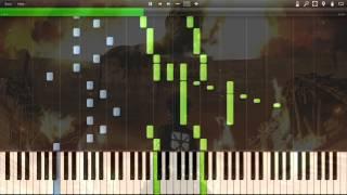 [Synthesia] (FULL) Shingeki no Kyojin 進撃の巨人 OP 2 Jiyuu no Tsubasa (Piano) MIDI [Attack on Titan]
