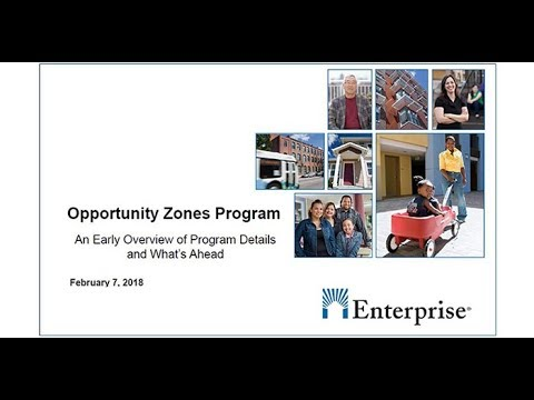 Opportunity Zones Program: An Early Overview of Program Details and What's Ahead  20180207 1822 1