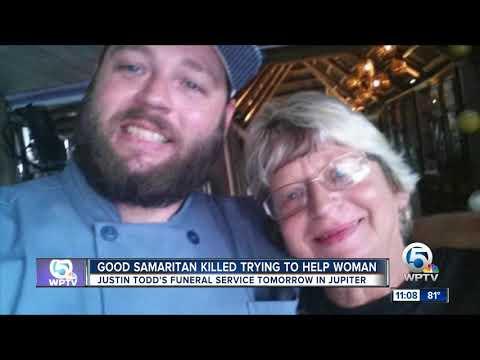 Funeral Service For Good Samaritan Justin Todd