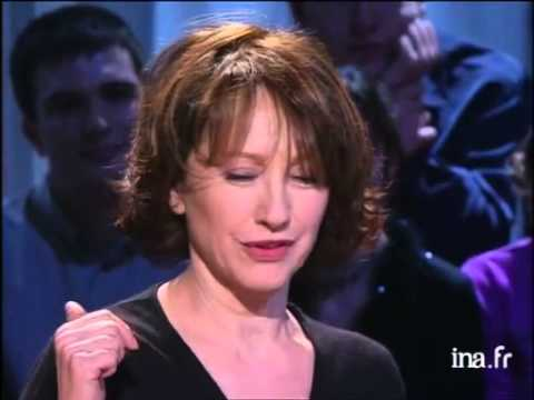 Ardiview de Nathalie Baye  Archive INA
